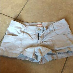 Light khaki shorts
